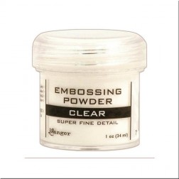 Polvo Embossing Super Fino - Clear