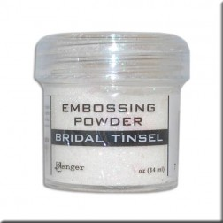 Polvo Embossing - Bridal Tinsel