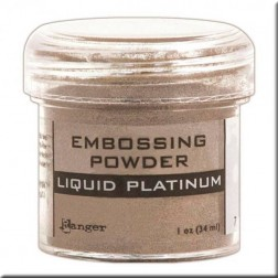 Polvo Embossing - Liquid Platinum