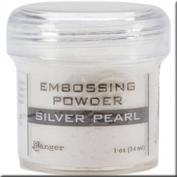 Polvo Embossing - Silver Pearl