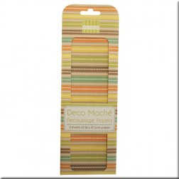 Papeles Decoupage Stripes