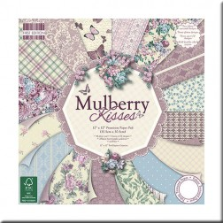 Papeles Scrapbooking - Mulberry Kisses (30x30)