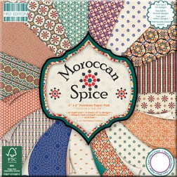 Papel Scrapbooking - Moroccan Spice (15 x 15)