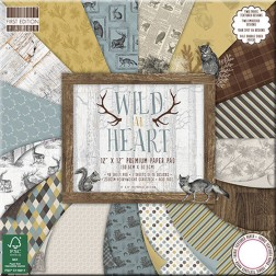 Papeles Scrapbooking - Wild at Heart (30 x 30)