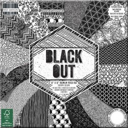 Papeles Scrapbooking Black Out (30x30)