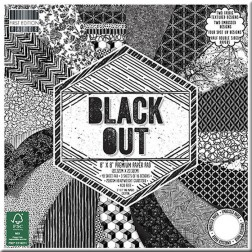 Papeles Scrapbooking Black Out (20x20)
