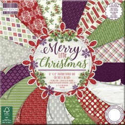Papeles Scrapbooking Merry Little Christmas (30x30)