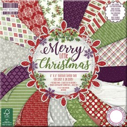 Papeles Scrapbooking Merry Little Christmas (20x20)