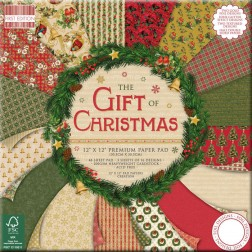 Papeles Scrapbooking The Goft of Christmas (30x30)