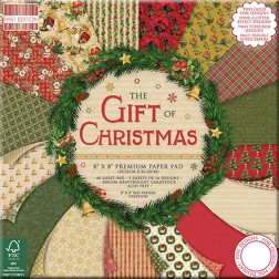 Papeles Scrapbooking The Gift of Christmas (20x20)