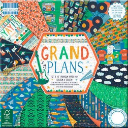 Papeles Scrapbooking Grand Plans (30x30)