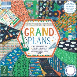 Papeles Scrapbooking Grand Plans (20x20)