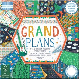 Papeles Scrapbooking Grand Plans (15x15)
