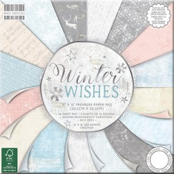 Papeles Scrapbooking Winter Wishes (30x30)