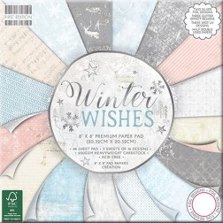 Papeles Scrapbooking Winter Wishes (20x20)