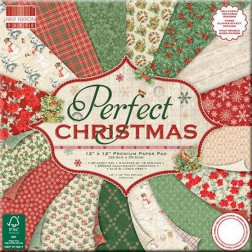 Papeles Scrapbooking Perfect Christmas (30x30)