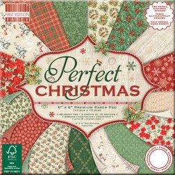 Papeles Scrapbooking Perfect Christmas (20x20)