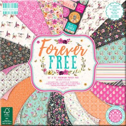 Papeles Scrapbooking Forever Free (30x30)