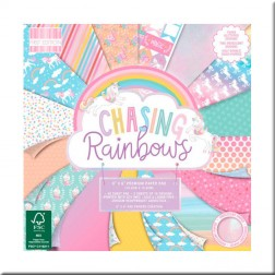 Papeles Scrapbooking Chasing Rainbows (15x15)