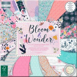 Papeles Scrapbooking Bloom and Wonder (30x30)
