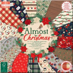 Papeles Scrapbooking Almost Christmas (30x30)