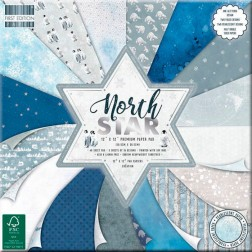 Papeles Scrapbooking North Star (30x30)