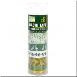 Washi Tapes Kale Green