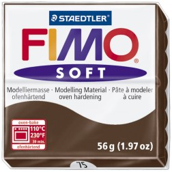 Fimo Soft Marrón Chocolate (Ref. 75)