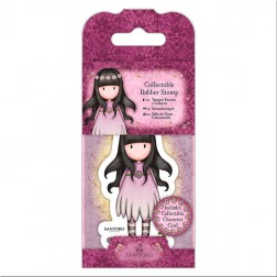 Set Mini Sello y Tarjeta Gorjuss Oops-A-Daisy