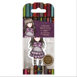 Set Mini Sello y Tarjeta Gorjuss Little Violet