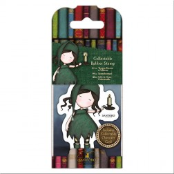 Set Mini Sello y Tarjeta Gorjuss Nightlight