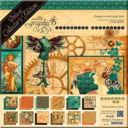 Set Graphic 45 Deluxe Steampunk Debutante (30x30)