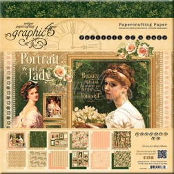 Papeles Scrapbooking Portrait of a Lady (20x20)