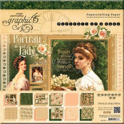 Papeles Scrapbooking Portrait of a Lady (30x30)
