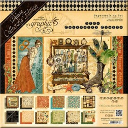 Set Graphic 45 Deluxe Olde Curiosity Shoppe (30x30)