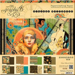 Papeles Scrapbooking Vintage Hollywood (20x20)