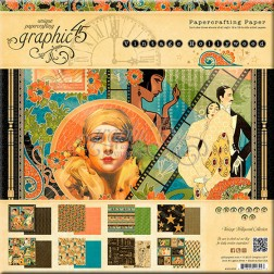 Papeles Scrapbooking Vintage Hollywood (30x30)