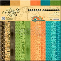 Papeles Scrap Estampados Vintage Hollywood (30x30)