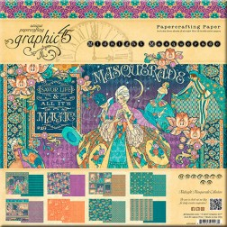 Papeles Scrapbooking Midnight Masquerade (30x30)