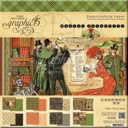 Papeles Scrapbooking Master Detective (20x20)