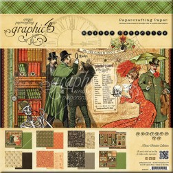 Papeles Scrapbooking Master Detective (30x30)
