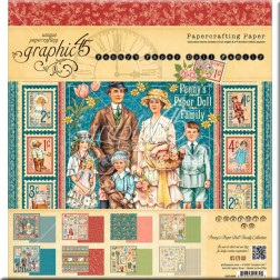 Papeles Scrapbooking Penny's Paper Doll Family (20x20)