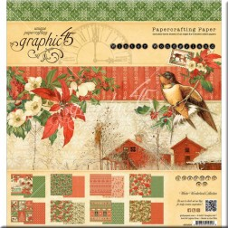 Papeles Scrapbooking Winter Wonderland (20x20)