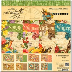 Papeles Scrapbooking Seasons (30x30)
