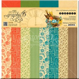 Papeles Scrap Estampados Seasons (30x30)