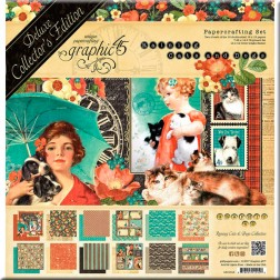 Set Graphic 45 Deluxe Raining Cats and Dogs (30x30)