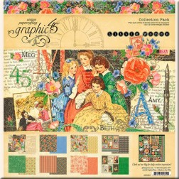 Papeles Scrapbooking Little Women (30x30)