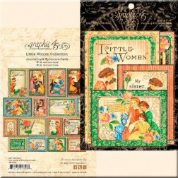 Tarjetas Journaling & Ephemera Little Women