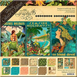 Set Graphic 45 Deluxe Tropical Travelogue (30x30)