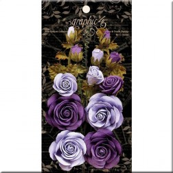 Flores French Lilac y Purple Royalty Rose Bouquet Collection